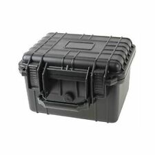 "10"" Deep Weatherproof Dry Box Case 4 GoPro Camera Gun W/ Pelican 1300 Pluck Foam"
