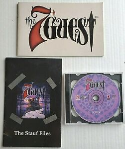 The 7th Guest - PC CD-ROM 1992 - 2 discs - Manual + Stauf Files booklet included