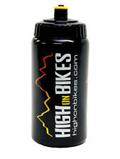 High on Bikes - Team Water Bottle - 500ml - Black