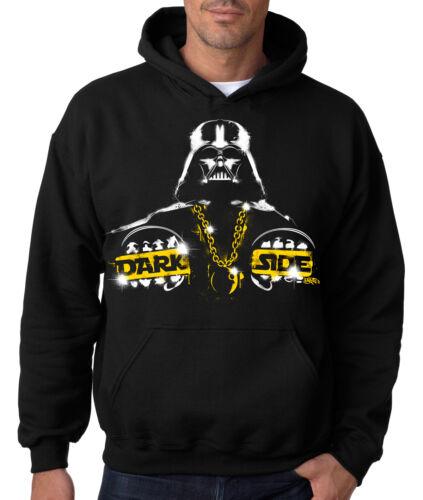 DARTH VADER THE DARK SIDE HOODIE Star Wars Hooded Sweatshirts Empire Boba Rebels