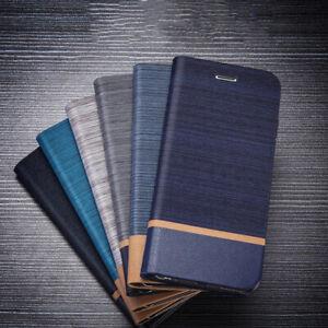 Pour-Xiaomi-Redmi-Go-Note-6-Pro-Slim-Clapet-Cuir-TPU-Etui-Portefeuille-Housse