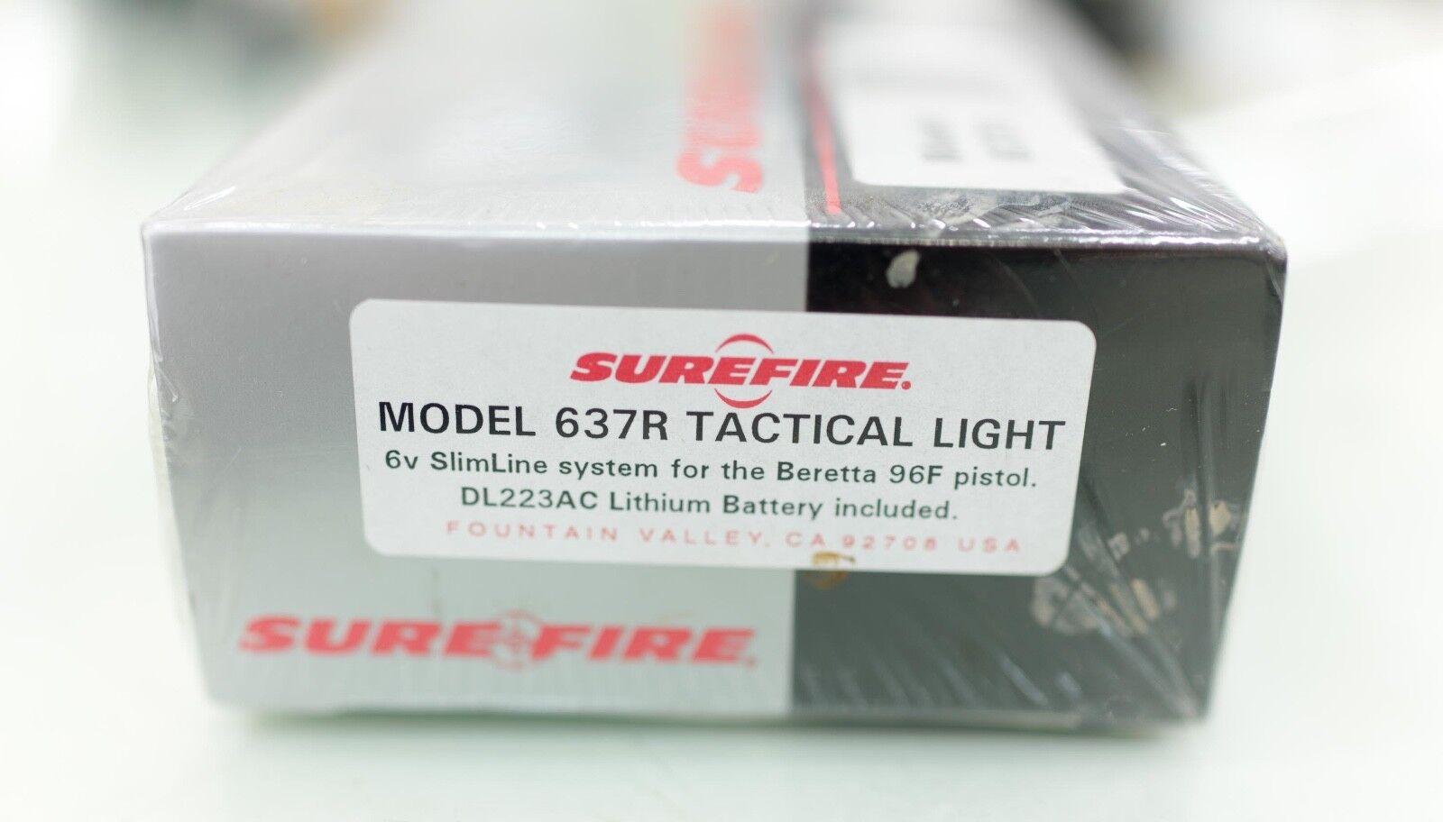 Surefire (los productos láser) Modelo 637R Pistola Táctica Luz Para Beretta 96F