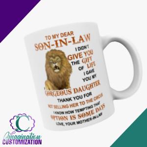 Son in law gift | Funny Son in law gift | Son in law coffee mug | Christmas gift