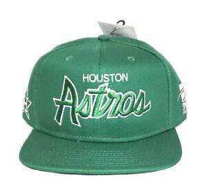 55c0d769 Image is loading Sports-Specialties-Houston-Astros-Snapback-Adjustable-Hat -Green-