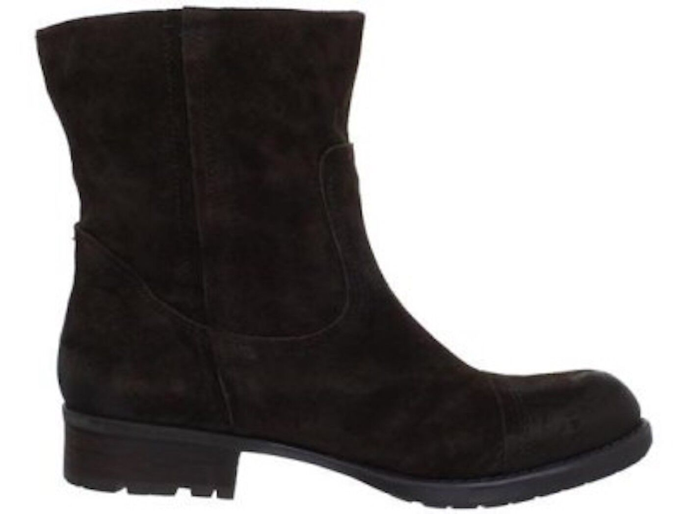 Franco Sarto Paula Boot Chestnut Ankle Stacked Dark Braun Metador Stacked Ankle heel NEW SUEDE 0e50ad