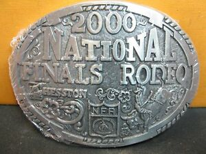 1989 Hesston National Finals Rodeo Belt Buckle Adult /& Youth FREE SHIPPING!