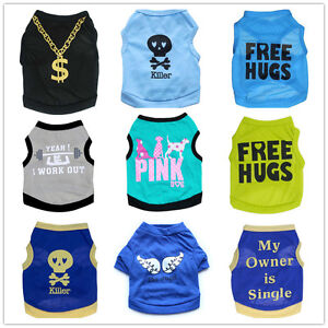 Small-Medium-Boy-Dog-Clothes-Pet-Shirt-Puppy-Vest-Spring-Summer-Clothing-Male