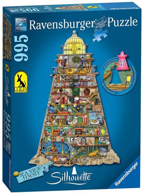 Jigsaw Puzzle ~ Ravensburger ~ LUCICROUS LIGHTHOUSE ~ 995 Pieces