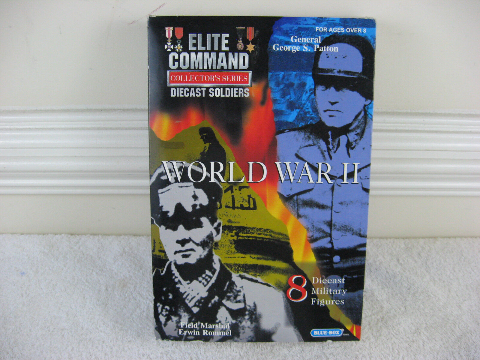Comando Comando Comando de elite Collector's Series Guerra Mundial 2 Diecast soldados 8pc Set a77a1a
