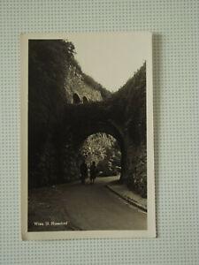 Alte Ansichtskarte Wien 19. Nussdorf, Bockkeller Durchlass, Echtphoto Dt. Reich