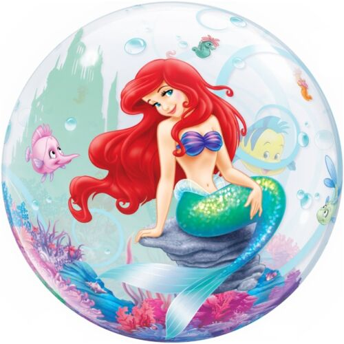 Disney Little Mermaid Themed Party Range Tableware Decorations Balloons Packs
