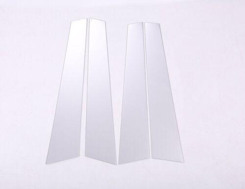 6* Fenster Front /& Rear Post Dekoration Stirp  Für BMW 5 Serie F10 520li 2011-17