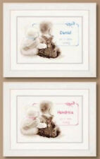 Vervaco - Counted Cross Stitch Kit - 21672 Baby Birth Announcement