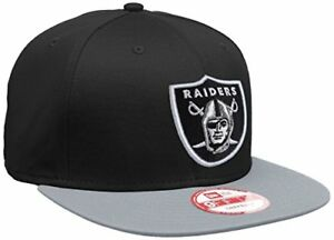 059505c86c9 New Era Mens Nfl Cotton Block Oakland Raiders 9Fifty Snapback ...
