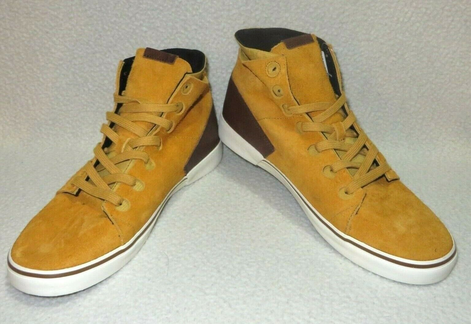 New Volcom Mens Buzzard Suede Athletic shoes Size US 9