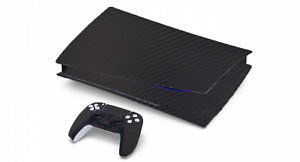 CARBON FIBER VINYL WRAP SKIN FOR PS5 PLAYSTATION *DISC VERSION*