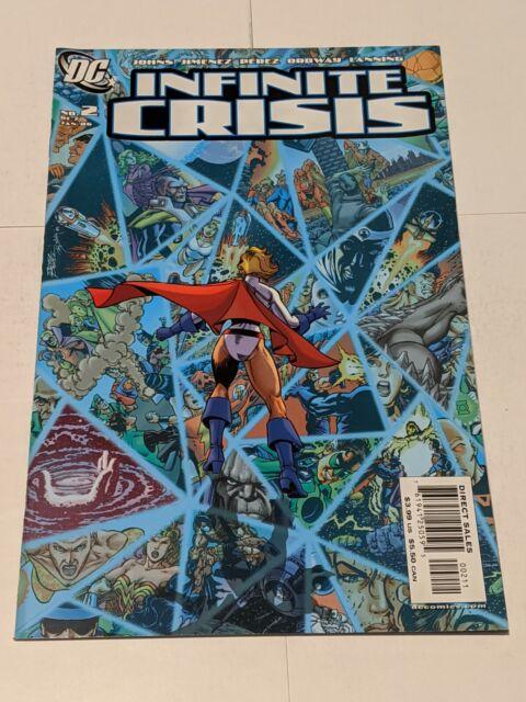 Infinite Crisis #2 January 2006 DC Comics John Jimenez Lanning Perez Ordway