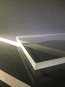 """Sheet 1//32/"""" Thick Clear Polycarbonate POLYCARB Cut to Size! Priced Per Foot"""