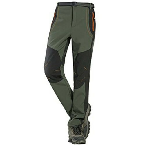 Men/'s Outdoor Windproof Hiking Pants Tactical Camping Climbing Cargo Trousers