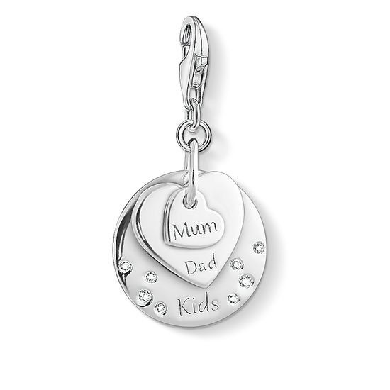 Genuine Thomas Sabo 30% OFF Charm Club CZ Mum Dad Kids Charm CC1453 RRP  119