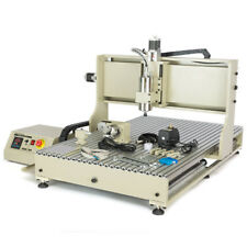 4 Axis Cnc6090 Router Engraver 2200w Vfd Engraving Milling Machine Usb Port Used