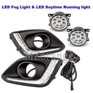 2x-LED-Daytime-Running-Light-DRL-Front-Fog-Lamp-Kit-For-Suzuki-Swift-14-16-LH-RH