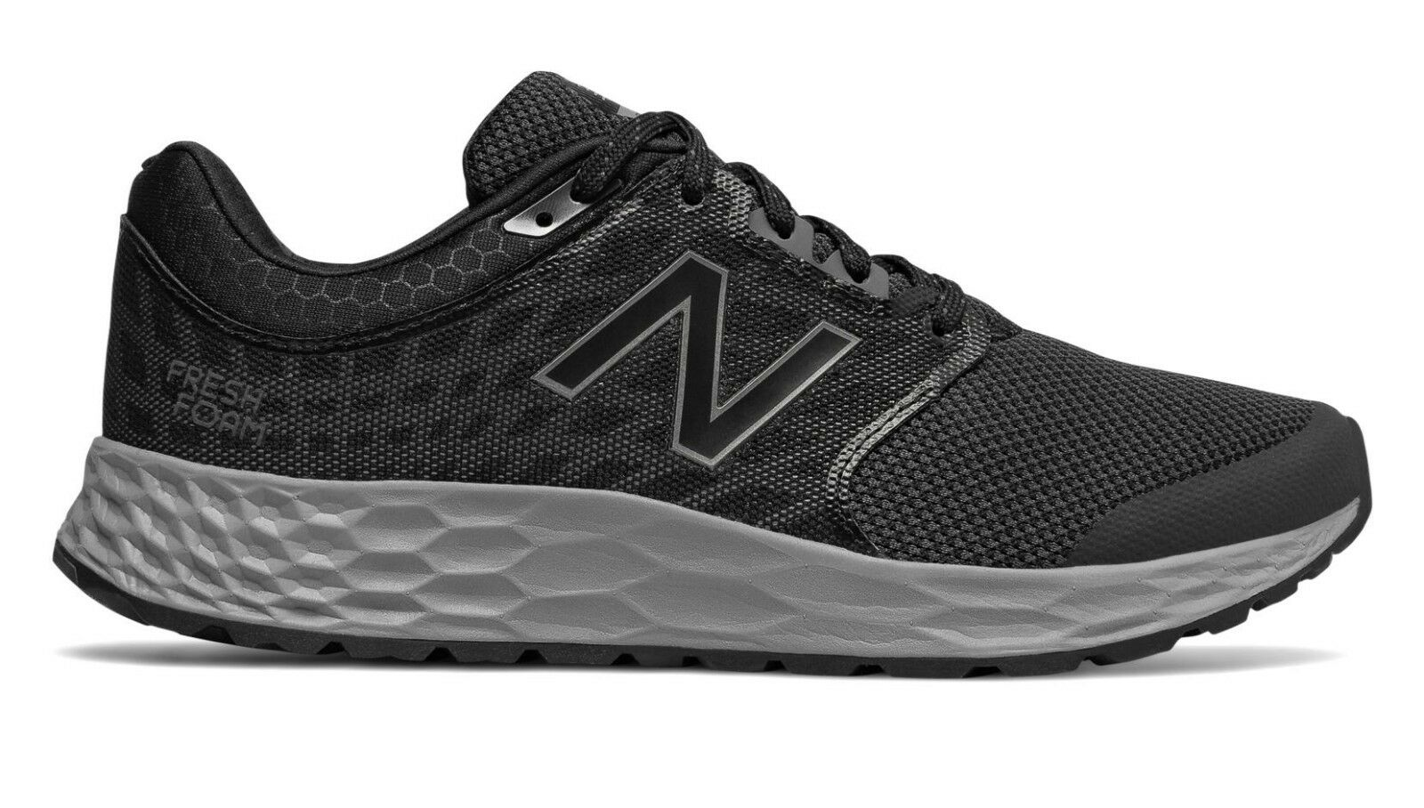 New Balance MW1165BK Mens Fresh Foam 1165v1 Black Grey Lightweight Walking shoes
