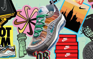 the latest 8cbee c8bc6 Image is loading NIKE-AIR-MAX-98-OA-On-Air-034-