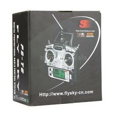Flysky FS-T6 2.4G 6CH Mode 2 Transmitter W/Receiver R6-B for RC Quadcopter U8L6