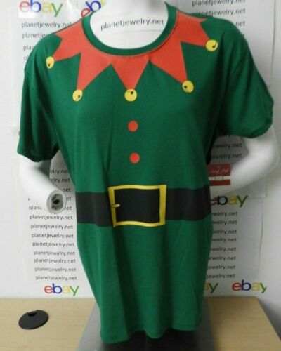 ELF Costume TEE and HAT Christmas T-SHIRT Juniors XL NEW W//TAG