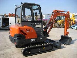 hitachi zx16 zx18 zx25 mini excavator service manual on cd free uk rh ebay com Volvo D Series Diggers Digger Truck