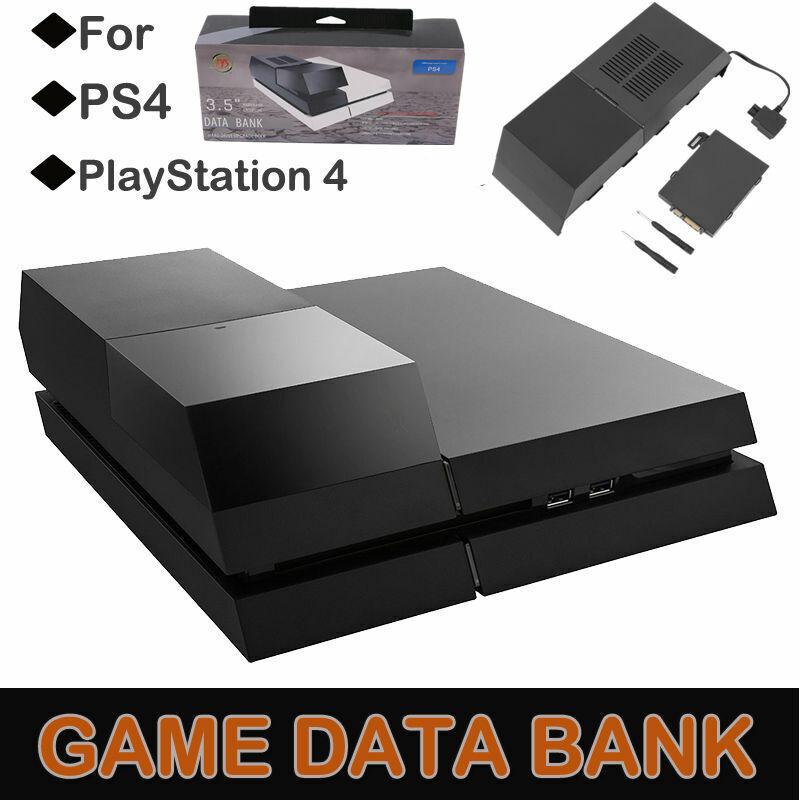 Data Bank External Hard Drive Storage Extender Enclosure for PS4 Playstation 4