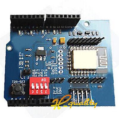 Arduino UNO R3 ESP8266 Serial WiFi Shield Extend Board Module With ESP-12E CC30