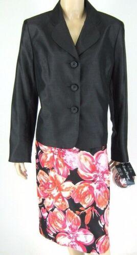 8851 Picone Evan Size Black New Flower Suit Skirt 14 Pin 701641561157 Suit 4TqxTawv