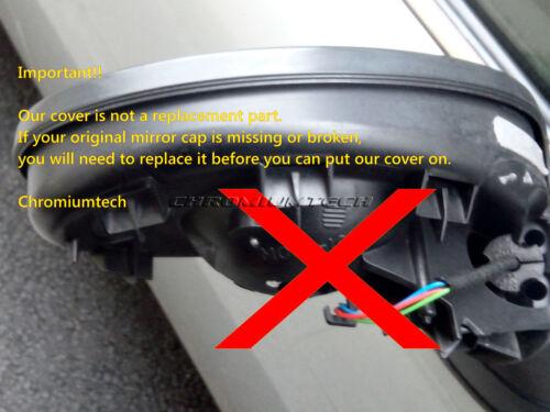 MK3 MINI Cooper//S//ONE JCW F55 F56 F57 Vivid BLUE Wing Mirror Cap Cover for LHD