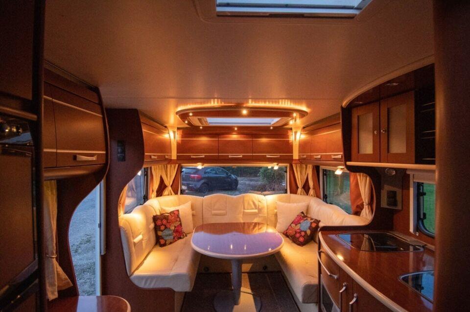 Dethleffs Exclusive VIP 670, 2007, 1670 kg egenvægt
