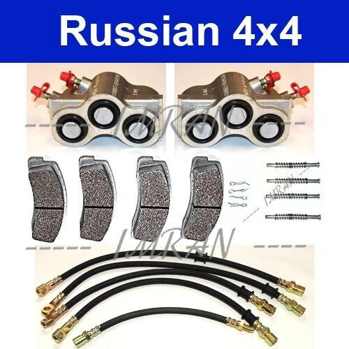 Lada Niva 1600 Andruckachsen 1700 Bremszylinder Bremsbeläge Bremsschlauch