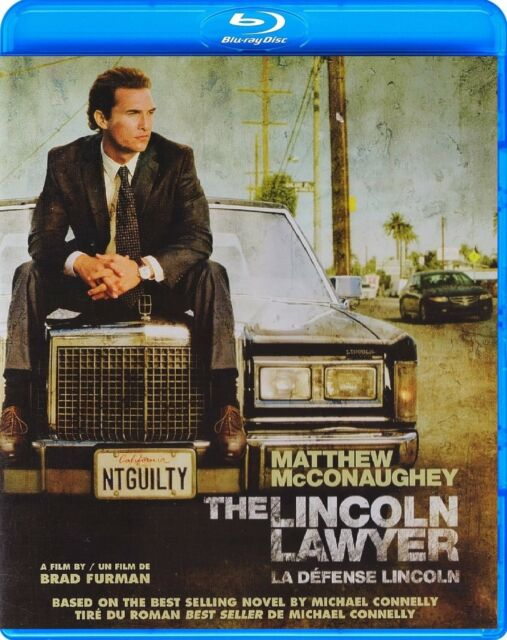 THE LINCOLN LAWYER (MATTHEW McCONAUGHEY) *NEW BLU-RAY*