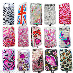 DELUX-3D-BRILLANTE-LUCCICANTE-DIAMANTI-CUSTODIA-COVER-per-APPLE-iPhone-3-3GS-UK