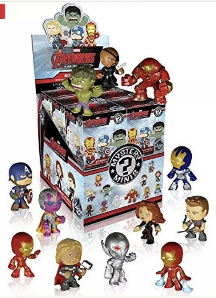Funko Mystery Minis Avengers 2 Display Case 12 Sealed