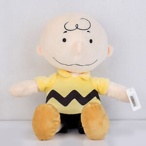 Charlie-Brown-Peanuts-Kohls-Cares-Plush-Stuffed-Toy-Peanuts-Yellow-Shirt-13-034-new