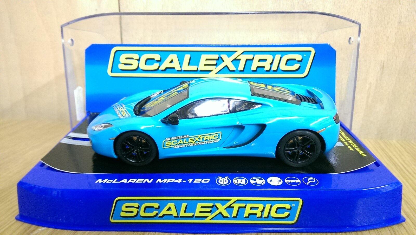 RARE SCALEXTRIC C3331 McLaren MP4-12C Australian Club Car Ltd Edition of 200 NEW