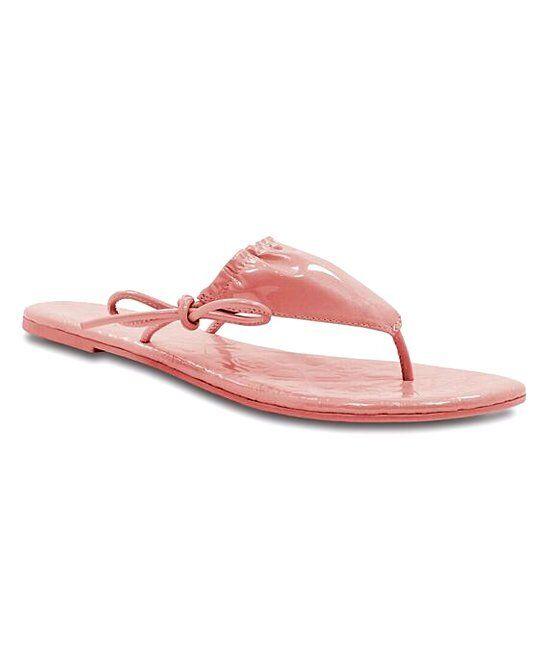 LUXTRADA scarpe CORAL PURE CANDY BIKINI BIKINI BIKINI LEATHER SANDAL Dimensione 9.5 (NEW) 5b457b