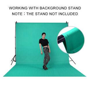 Photography 6x9ft  Chromakey Green Screen Muslin Backdrop Photo Cotton Backgroud