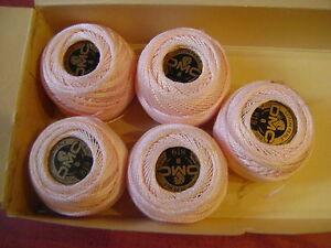1-boule-coton-perle-DMC-grosseur-N-8-coloris-819-article-116-une-seule-boule