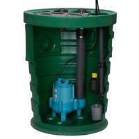 Little Giant 10sf3v3d - Pit Plus® Sr. 1/2 Hp Premium Simplex Sewage Syste...