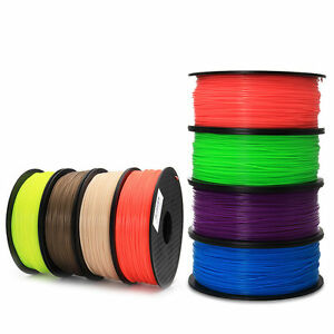 NEW 3D Printer Filament ABS/PLA 1.75mm/3mm Wire Rod  for Print pen Print RepRap
