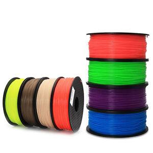 3D Printer Filament 1kg1.75mm 3mm  PLA Multiple Color For MakerBot RepRap