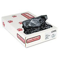 Jaguar Plastics Low-density Can Liners 12-16 Gallon .35mil Black 500/carton