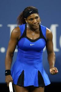 Image Is Loading Serena Williams Nike Tennis Dress Rich Royal Blue